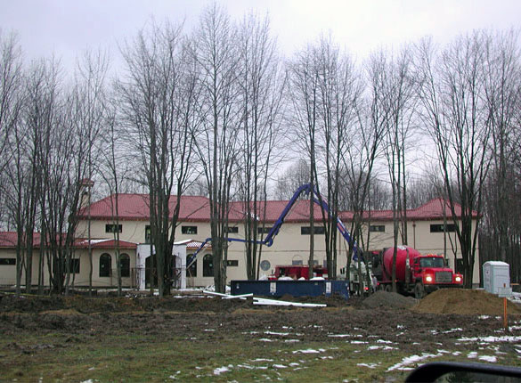 New Tuscan-Style Home Construction