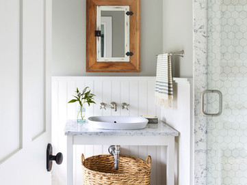 Country Living's Makeover Takeover - Bathroom reveal as featured in our October 2015 issue!