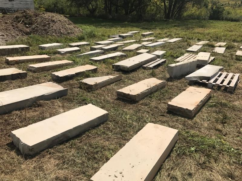 Retaining Wall for New Bank - Follow the Barn Home Project_Sept16_update