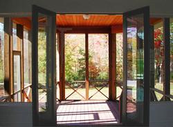 Cedar Screened in Porch.