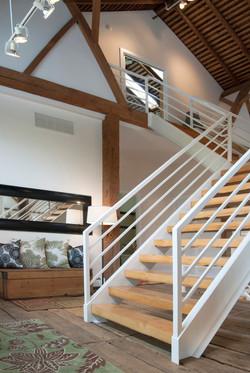 Ohio Barn - Staircase