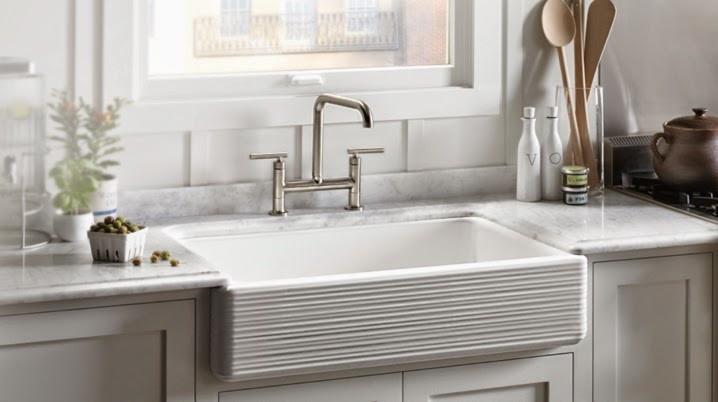 Porcelain Apron Sink: Farmhouse Revival, Image courtesy of Kohler