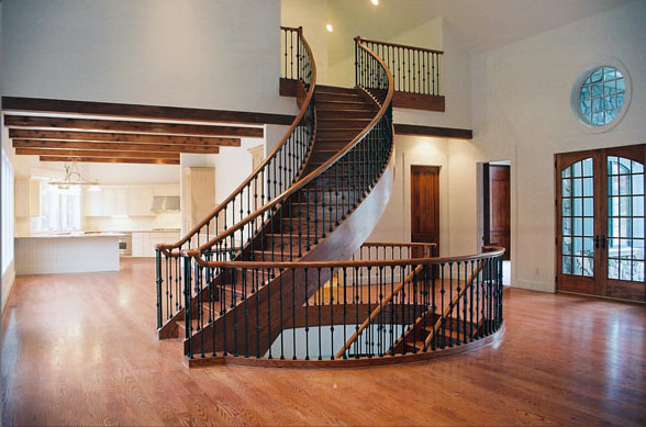 Custom Spiral Stairway