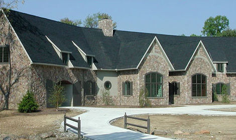 New Custom Home, French Country Estate - Bath, OH