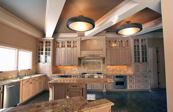 Custom Kitchen for New Home
