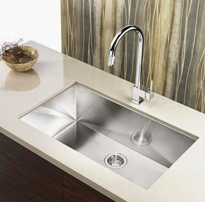 Kitchen Sink Trends, Large Single Bowl Sink - Image courtesy of cbath
