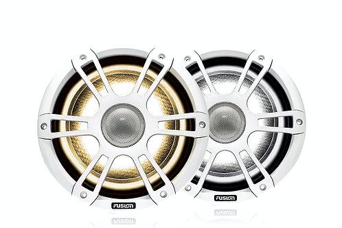"Fusion 6.5"" 230 Watt Coaxial Sports Chrome Marine Speaker with CRGBW SG-FL652SPW"
