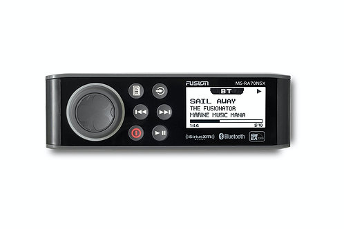 Fusion MS-RA70NSX Marine Entertainment System with NMEA 2000 & SiriusXM