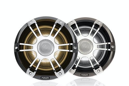 "Fusion 6.5"" 230 Watt Coaxial Sports Chrome Marine Speaker with CRGBW SG-FL652SPC"