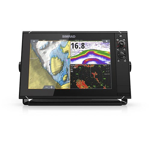 SIMRAD NSS12 evo3 with world basemap