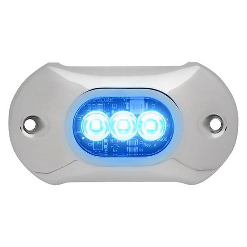 """Подводный огонь Attwood 4.0 HPX - 4"""" length, 3 LED  синий 1350 люменов"""