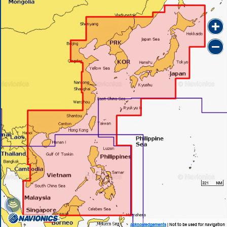 Navionics 35XG CHINA SEA & JAPAN Японское море, Владивосток