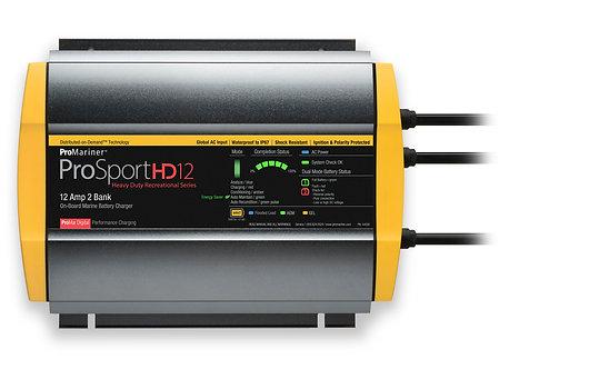 Зарядка ProMariner ProSportHD12 Part#44026, 12A на 2 Акк.