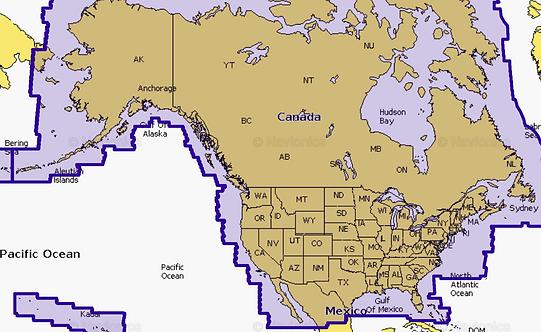 Navionics NI US & Canada США и Канада