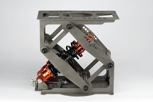 Амортизационная стойка SmartWave двойная 30-32см(шлиф. нержавеющая сталь)