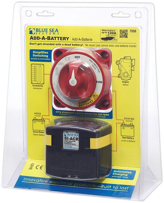 Умная масса Blue Sea Add-A-Battery Kit - 120A 7650