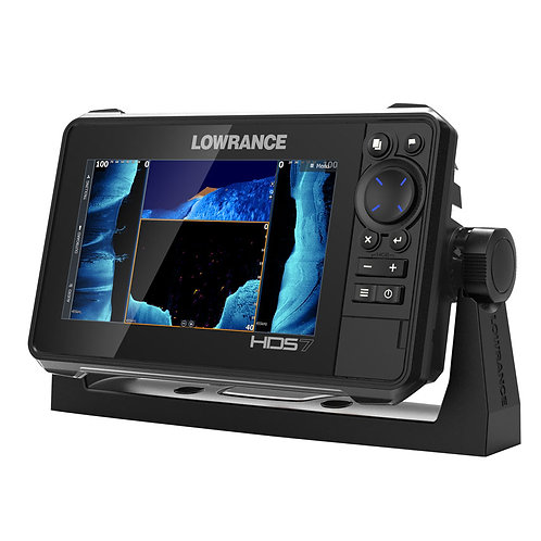 LOWRANCE HDS LIVE 7 с датчиком Active Imaging 3in1