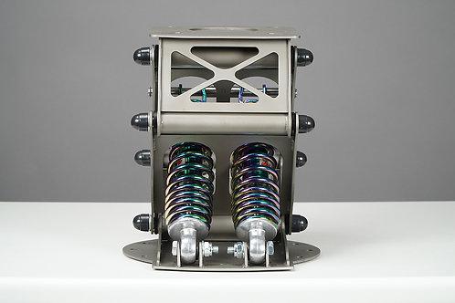 Амортизационная стойка SmartWave средняя 25см(шлиф. нержавеющая сталь)