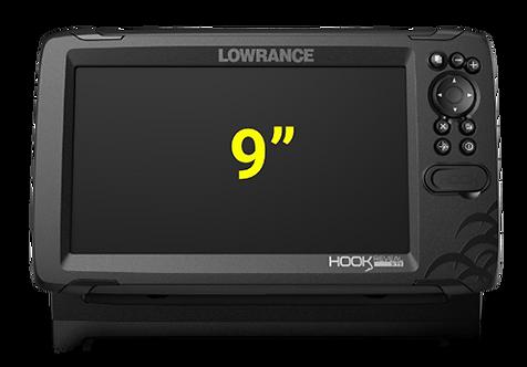 Lowrance Hook Reveal 9 с датчиком TripleShot