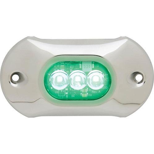 """Подводный огонь Attwood 4.0 HP - 4"""" length, 3 LED зеленый 800 люменов"""