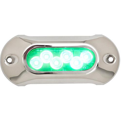 """Подводный огонь Attwood 5.0 HP - 5"""" length, 6 LED зеленый 1350 люменов"""
