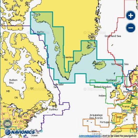 Navionics 20XG GREENLAND & ICELAND Гренландия и Исландия