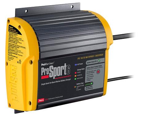 Зарядка ProMariner ProSport6 PFC Part#43023, 6A на 1 Акк.