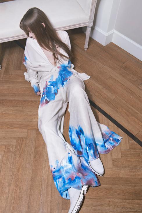 'Shidare Sakura'  Fashion by Kristina Koslow and Liliana Schneebeli