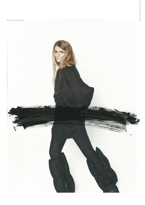 'Japanese Ink'  Fashion by Marcel Vernie