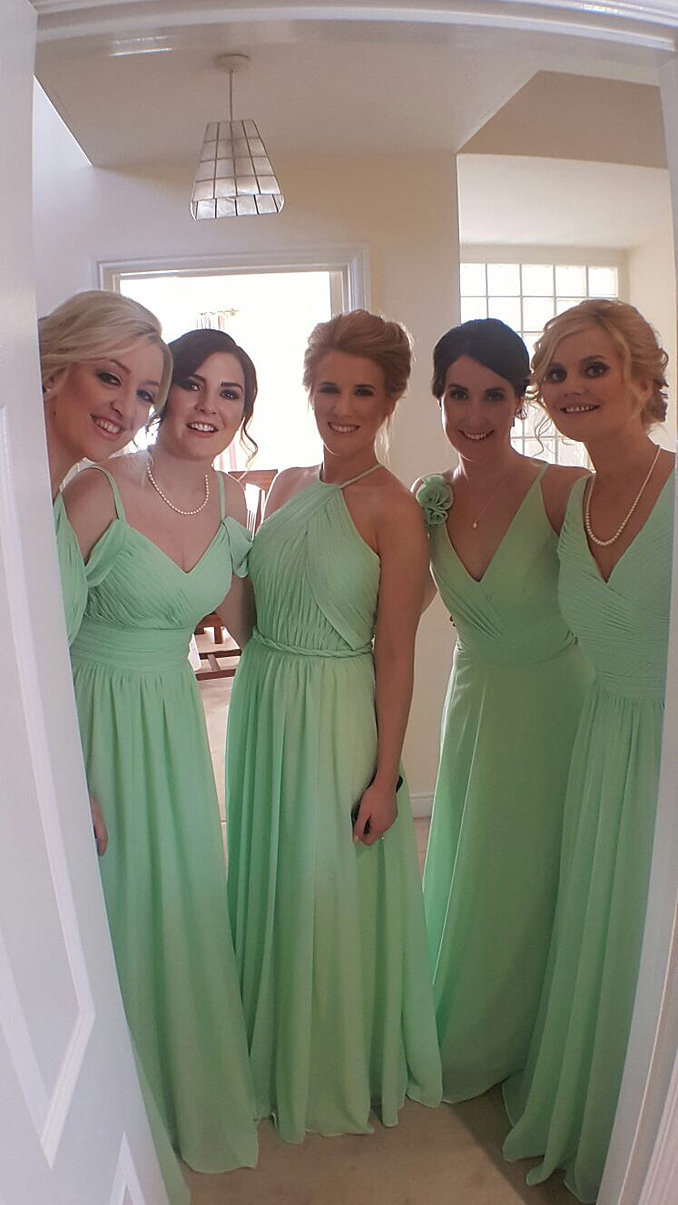 Aqua color dress bridesmaids imdb