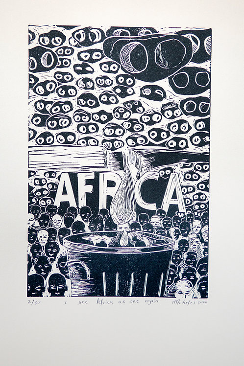 I see Africa as one again