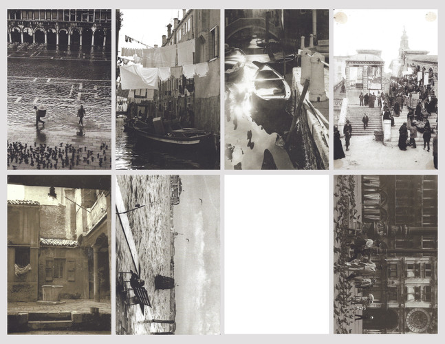 Various postcards from Venice