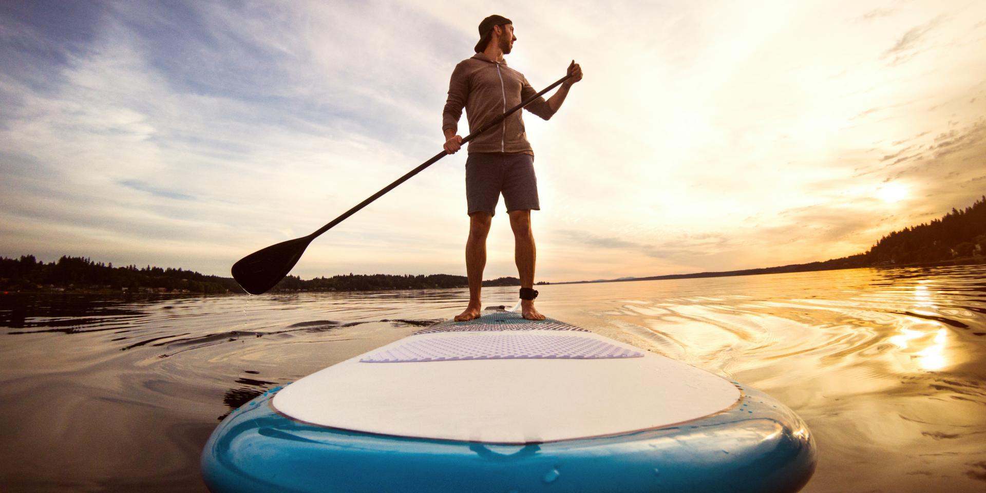 Langue et paddle