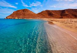 La-playa-de-los-Genoveses-en-el-Cabo-de-
