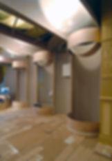 museum Hilversum, installatie, Couzijn van Leeuwen cardboard karton