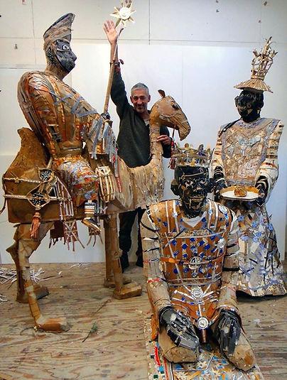 couzijn van leeuwen, studio, atelier, cardboard, karton, glue, polystyreen, paper, ceramics, keramiek,wallpaper, paper.