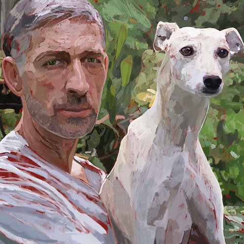 love between man and whippet