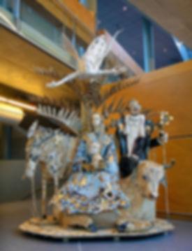 museum Coda Apeldoorn, Couzijn van Leeuwen, christmas, cardboard, karton