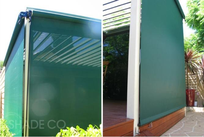 Straight drop awning | Outdoor awnings | Enclose entertaining areas