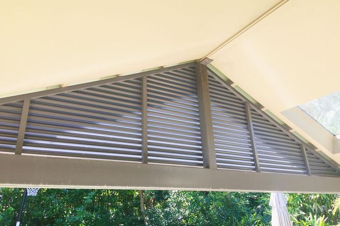 Custom shaped aluminium screens