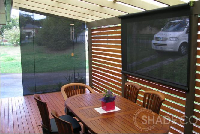 Custom made cafe blinds | Straight drop awnings | Outdoor entertaining