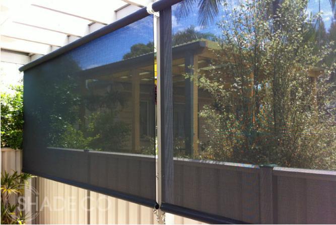 Verandah blinds | Outdoor blinds | Cafe blinds