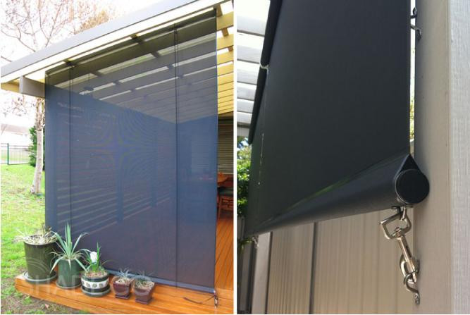 Outdoor Blinds Cafe Blinds Straight Drop Awnings