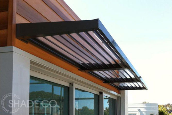 BASIX approved louvre awning | Window awning | Aluminium louvre awning
