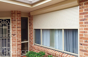 Sentry fire sheild rolle shutter, bushfire rated shutters, security shutter, ozroll shutter, rollashield shutter, motoised shutter, window shade, sydney roller shutters