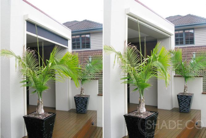 Vertiscreens with tracks | Ziptrak | Zipscreen | Outdoor blinds