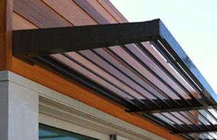 BASIX louvre awning, fixed awning, window shade, louvre awning, sydney awnings