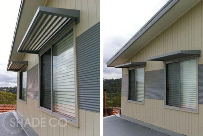 Window awnings | Door awnings | BASIX aluminium awnings