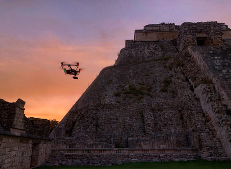 Aerial cinematography in Yucatan with Inspire 2 X7