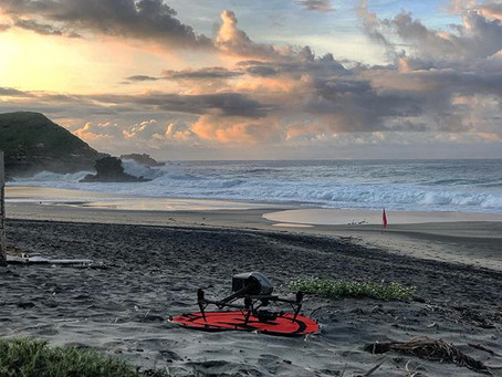 Movie in Mazunte with Inspire 2  X7